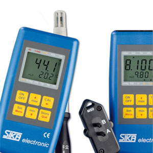 Hand-held Instruments for Temp Hum Pres